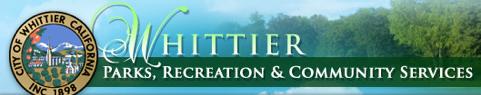 Whittier City Parks Recreation & Community Services